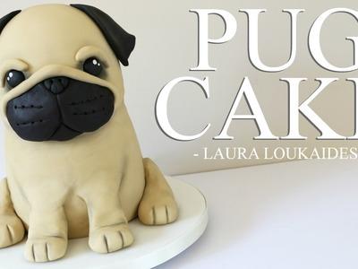 How to make a 3D Pug Cake - Laura Loukaides