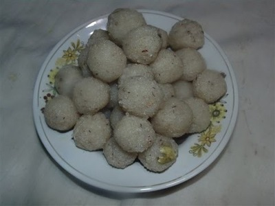 How To Make Coconut ladoo (Ganesh Chaturthi Special) Video In Hindi