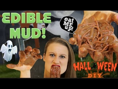 How To Make Edible Mud - Edible Pranks For Halloween