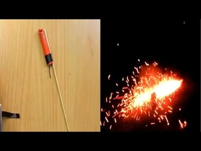 How to make fireworks of matches at home.
