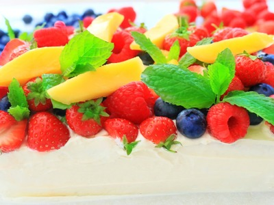 How To Make Fresh Fruit Cream Cake | Ogura Sponge Cake Recipe | Chinese Bakery Style Birthday Cake