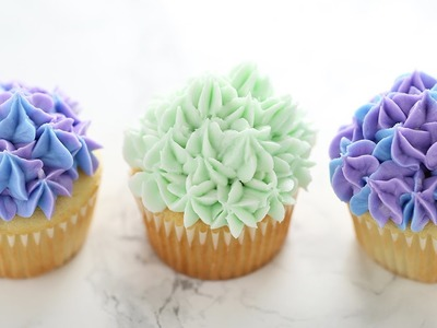 How to Make Hydrangea Cupcakes | Cake Decorating