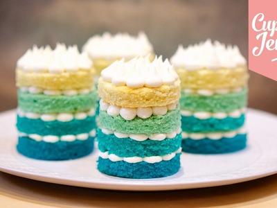 How to Make Mini Ombré Cakes | Cupcake Jemma
