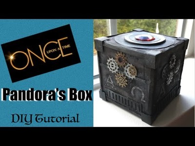 How To Make Pandoras Box - Once Upon A Time Tutorial - Easy ONCE cosplay