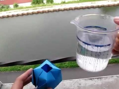 How to make paper water bomb 2016