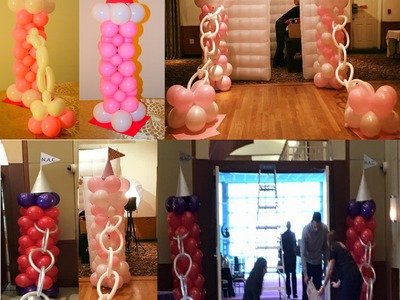 How to make Princess Balloon Decorations for frozen, sophia the first or any other disney princess p