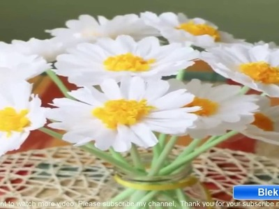 How to make super cute paper flowers
