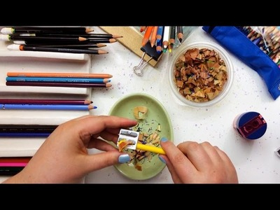 How to Sharpen Colored Pencils Blissfully
