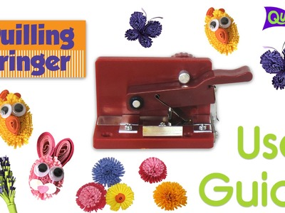 How to use a Quilling Fringer