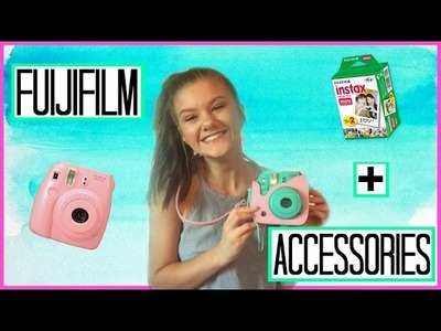 How To Use Your Fujifilm Instax Mini 8 + Accessories!