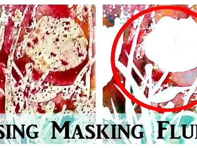 Masking Fluid Tutorial: How To Use Masking Fluid For Watercolour Paintings