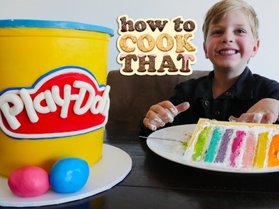 PLAY DOH CAKE VIDEO How To Cook That Ann Reardon YouTube Kids