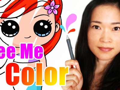 Watch How I Color My Drawings - Time Lapse Coloring w.Adobe Photoshop
