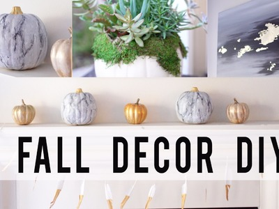 5 FALL HOME DECOR DIY PROJECTS | Contemporary Style | ANN LE