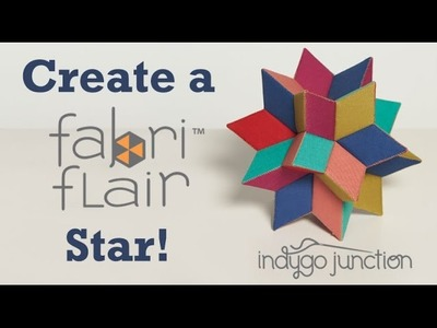 Create a Radiant Star - FabriFlair™ Paper Piecing Kits by Indygo Junction