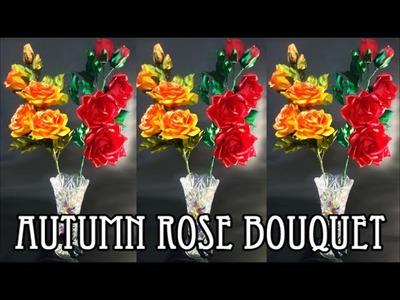 D.I.Y. Autumn Rose Bouquet | MyInDulzens