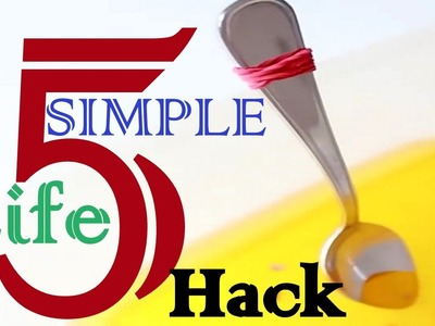 DIY 5 simple life hacks you can try | Nifty | 5 minute crafts