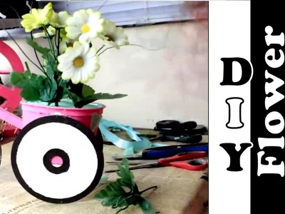 DIY A creative flower room decoration   Nifty   5 Minute Crafts
