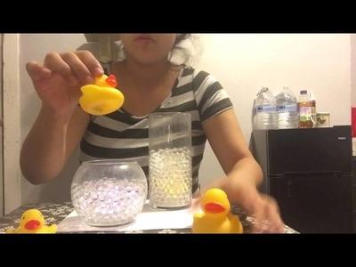 Diy baby shower centerpiece (rubber duck theme)