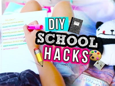 DIY BACK TO SCHOOL HACKS 2016 | LaurDIY