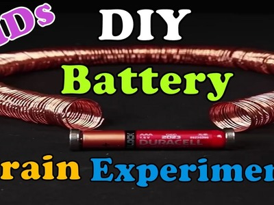DIY Battery train tricks for kids experiment | Nifty | 5 Minute Crafts