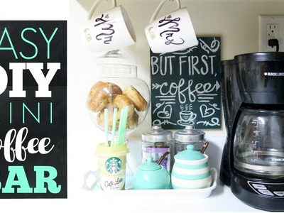 DIY Coffee Station for Everyday Use | DAISO PROJECT | Easy & Simple Coffee Bar