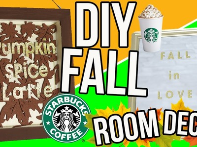 DIY Cozy Fall Room Decor 2016! Cheap + Easy Room Decorations for Autumn! Tumblr Inspired!