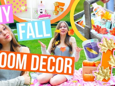 DIY Fall Room Decor 2016! Easy & Cheap DIYs To Make Your Room Cozy For Fall!!