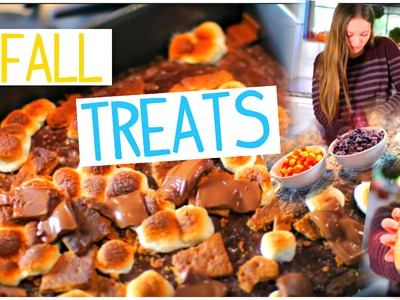 DIY Fall Treats You Need to Try!! Quick & Easy!!