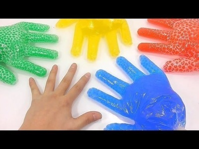 DIY How To Make Orbeez Finger Frozen Learn Numbers Counting Colors Baby Doll Slime Bath Time BINGO