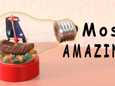 DIY Light Bulb - Putting a ship in a Light Bulb