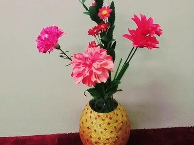 Diy Newspaper Vase