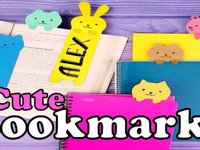 DIY Super cute and easy to make bookmarks | Nifty | 5 Minute Crafts