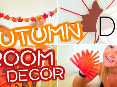 Easy DIY Autumn.Fall Room Decorations!