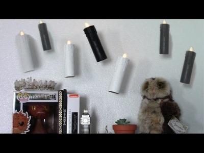 Levitating Candles. Harry Potter DIY ⚡