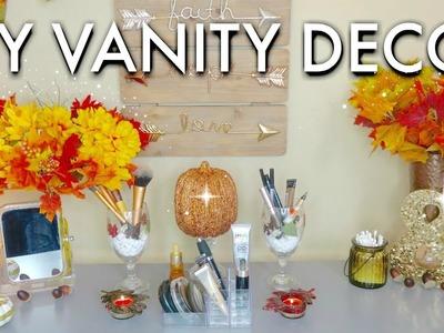 Simple, Cozy and Cute DIY Vanity Decor