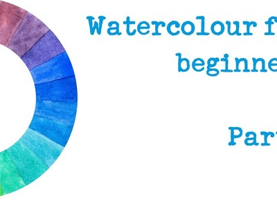 The Spin Doctor's Surgery E01 - Beginners' watercolour - which paints, brushes and paper you need!