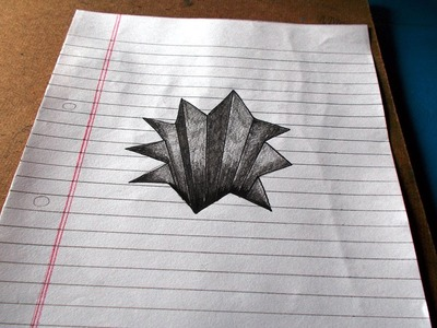 Trick Art on Line Paper Drawing 3D Hole, Cool 3D Trick Art, Optical Illusion, Easy Art, HD Video