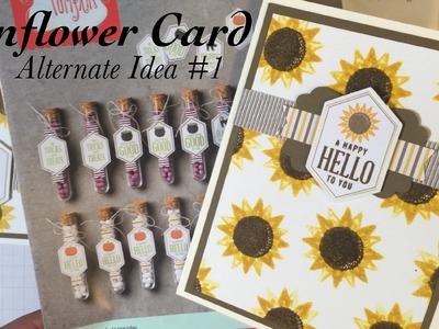 UnBoxing & Alternate Card Idea #1: September 2016 Paper Pumpkin Kit Something Good To Eat