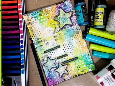 Working with Deli Paper & Crackle Paint - Mixed Media Art Journal