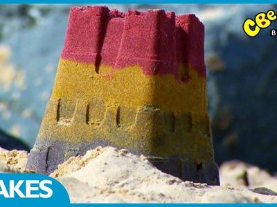 CBeebies | Rainbow Sandcastle Make | The Let's Go Club