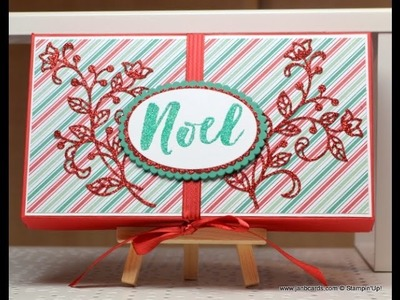 Coordinating Christmas Cards & Tag in Box - JanB UK Stampin' Up! Demonstrator Independent