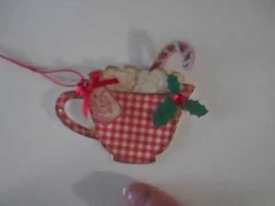 Cup of Cheer Christmas Tag Tutorial