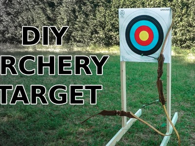 DIY Archery Target And Stand