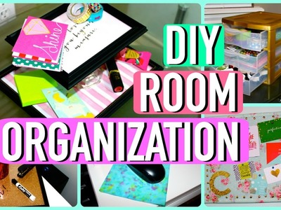 DIY ROOM ORGANIZATION AND STORAGE IDEAS!!
