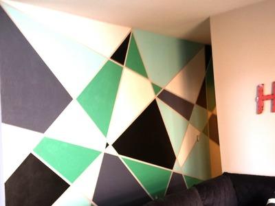 Geometric Wall Paint DIY