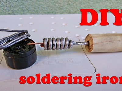 How To Make Soldering Iron - DIY NON Electric soldering iron
