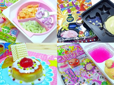 Kracie Japanese DIY Candy Kit Compilation [ASMR]