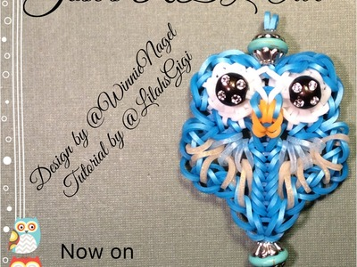 NEW Rainbow Loom JOSE'S RBL OWL (Hook Only)