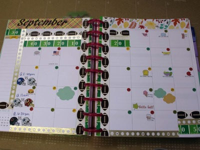 Plan With Me-Plum Paper -September Monthly